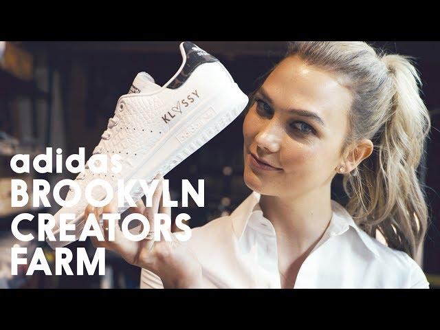 on sale 031db eb510 Karlie Kloss Goes on a Tour of adidas Brooklyn Creative Farm
