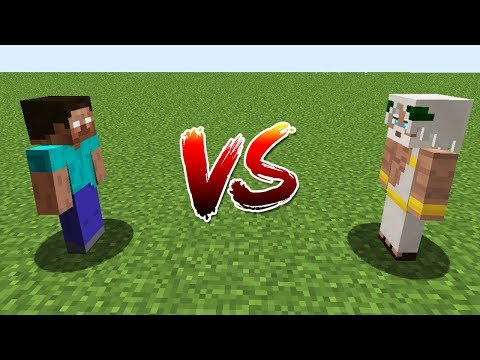 Minecraft Battle: NOOB Vs PRO: HEROBRINE VS GOD CHALLENGE / Animation