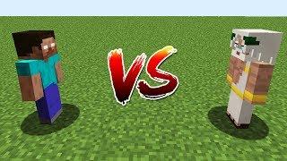 Minecraft Battle: NOOB vs PRO: HEROBRINE VS GOD CHALLENGE / Animation