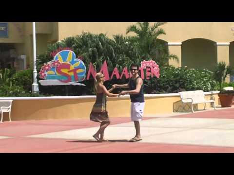 Francisco & Stacey Dancing in St.Maarten