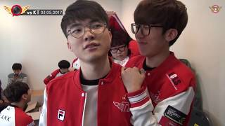 EP07. LCK SPRING 2R vs KT │Why is Hunii so surprised?!  [T1 CAMERA]