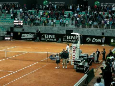 Roma 2010 - Soderling vs Wawrinka