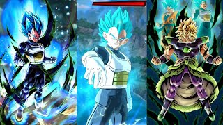 Dragon Ball Legends First Time Pvp Matches Featuring NEW SSB Vegeta!