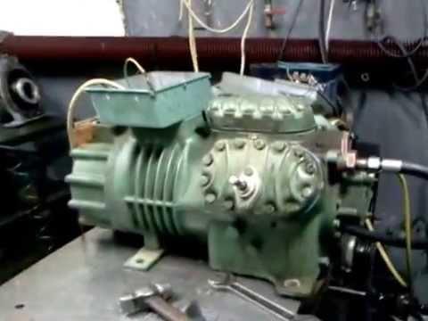 видео: Испытание компрессора bitzer 6f-50.2 после ремонта