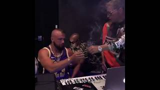 Scott Storch in the Studio with Kollegah!