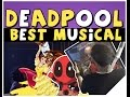 Deadpool Musical Beauty And The Beast Gaston Parody Reaction Logan Scared The Crap Out Of Me mp3