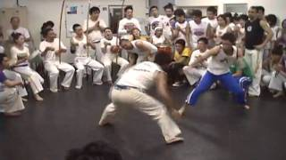 Roda Aberta no Batizado de Capoeira in Osaka Japan 2007 Grupo de Capoeira CapuJapão
