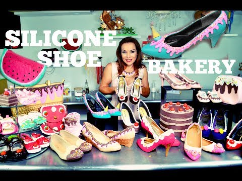 DIY REVAMP OLD SHOES & HANDBAGS USING SILICONE (NOT EDIBLE) | PIN-UP STYLE | BY VERUSCA WALKER