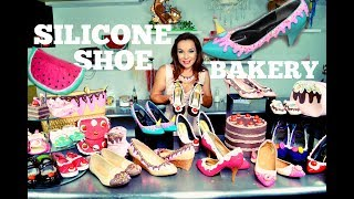 BAKERY INSPIRED SILICONE SHOES | HANDBAGS | PIN-UP