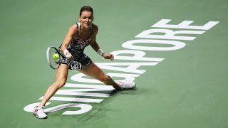 2016 WTA Finals Singapore Day 4 Highlights