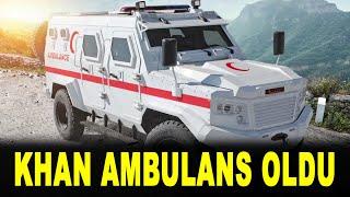 Türk zırhlısı Khan'a yeni görev - Katmerciler - Khan 4x4 Ambulans - Türk savunma sanayi KATMR