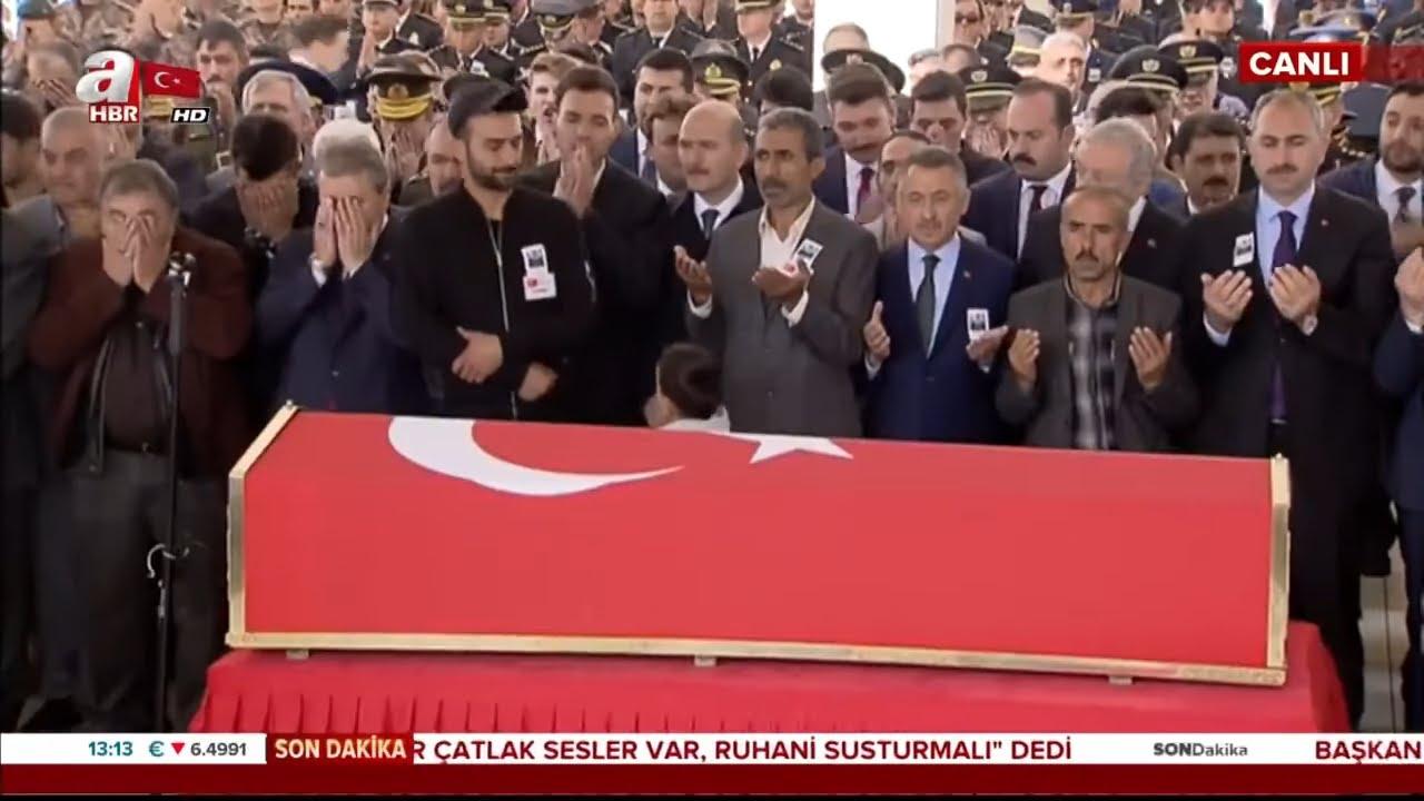 Barış Pınarı Harekatı Şehidi Umut Coşkun'a Veda! / A Haber