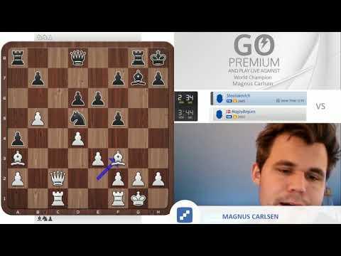Positional Masterclass   Magnus Carlsen vs. chess24 user Shostakovich