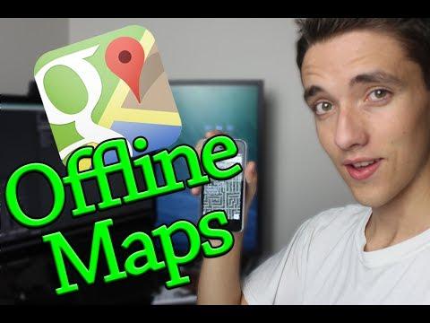 Google Offline Maps Trick On IOS