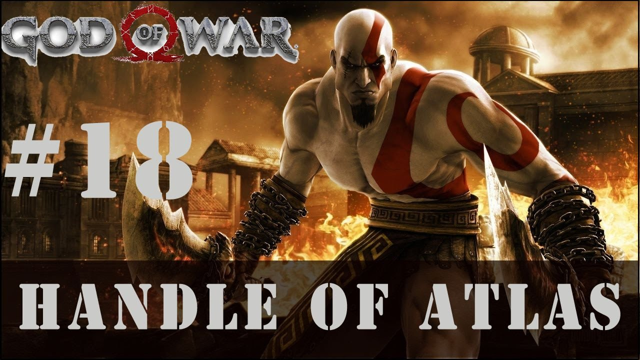 God Of War 18 Handle Of Atlas