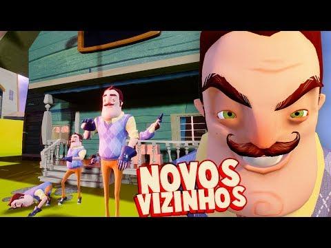 10 NOVOS VIZINHOS!!! E UMA NOVA CASA! | Hello Neighbor (Mods)