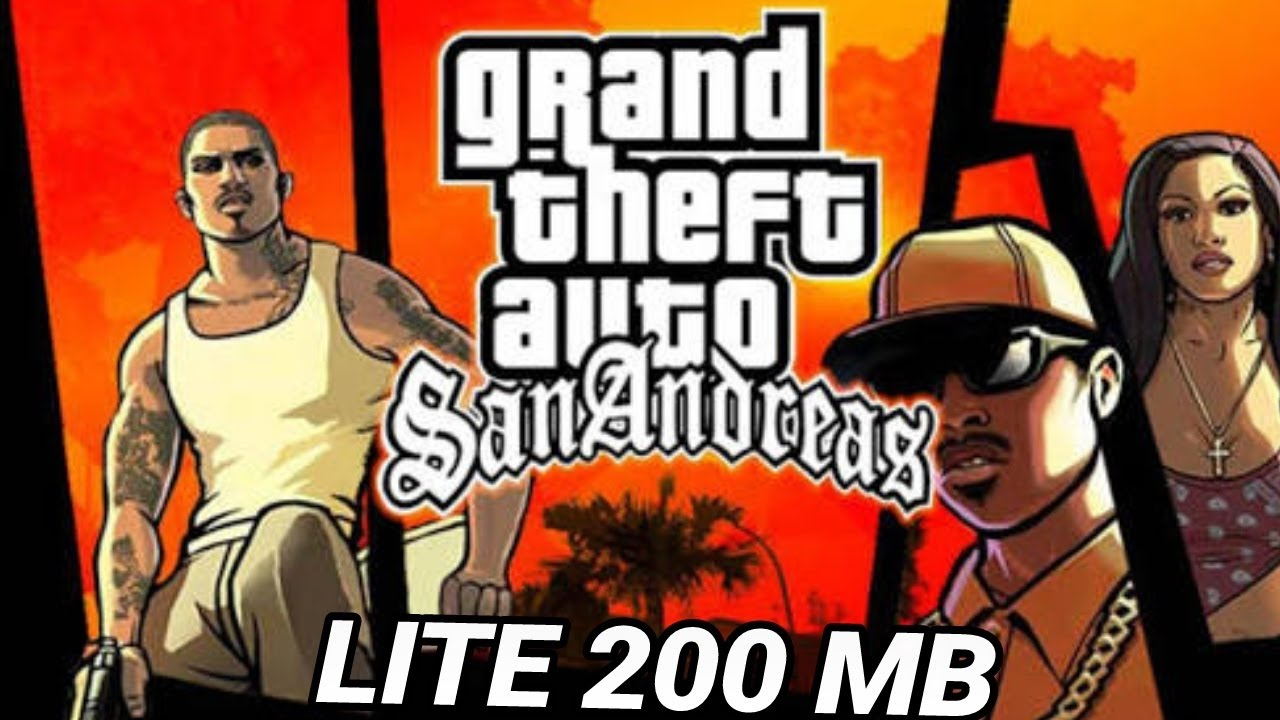 download gta san andreas for android lite