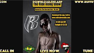 The Ryda Along Show, Mz Info, Bad Guy Koobi Newtin Interview I AM ATG