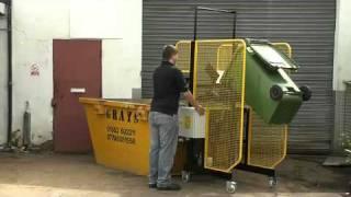 Wheelie Bin Tipper, Wheelie Bin Lift, Bin Tipper, Waste Bin Lift, Manual Handling Solutions