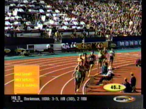 2001 IAAF World Championships Men's 1500m
