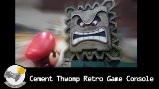 Cement Thwomp Retro Game Console // LET'S MAKE: