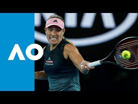 Angelique Kerber v Beatriz Haddad Maia match highlights (2R) | Australian Open 2019