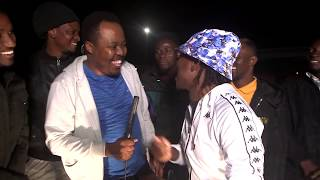 Vee Mampeezy & Jack Bohloko celebrating 1 Million Views