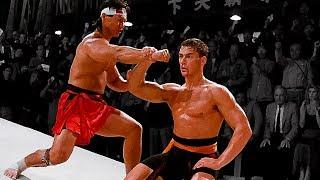 Жан-Клод Ван Дамм (Фрэнк Дюкс) против Боло Йена (Чонг Ли)   Van Damme (F. Dux) vs Bolo Yeung (C. Li)