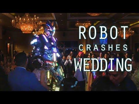 Robot Crashes Wedding!