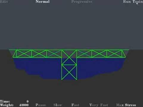 Bridge Building Game New Level