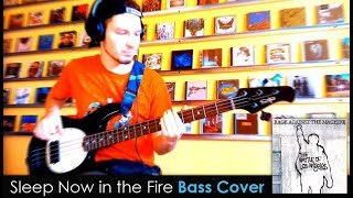 Rage Against the Machine Sleep Now in the Fire Bass Cover TABS daniB5000