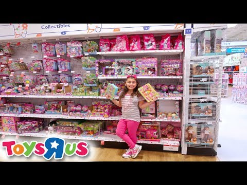 $1 SLIME + 12 DIFFERENT KINDS OF SQUISHIES AT TOYS R US! VLOG