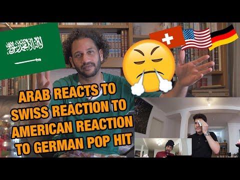 ARAB REACTS TO REACTIONS TO GERMAN POP HIT I Namika - Je ne parle pas francais feat. Black M