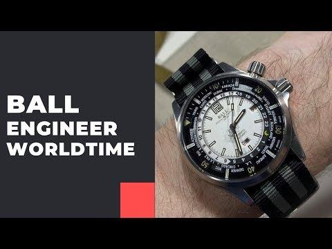 МИРОВОЕ ВРЕМЯ! Ball Engineer Master II Diver Worldtime