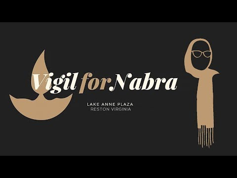 Vigil For Nabra - Reston, Virginia