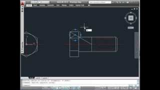 AUTOCAD 2011- BUILDING A DYNAMIC HEX. SCREW BLOCK- PART1/6
