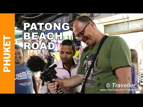 Patong Beach 2018 - Patong Beach Road at Night - Patong Nightlife