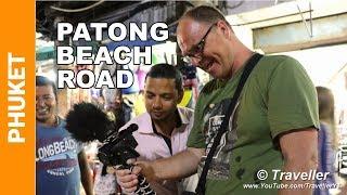 Patong Beach Road at Night 2018 - Een wandeling langs Patong Beach Road - Phuket vakantie