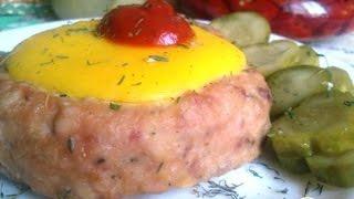 Мясные ватрушки.  Пошаговый рецепт