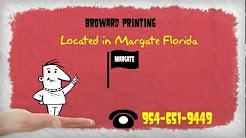 Broward Printing Margate FL Video