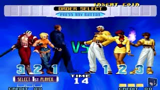 [TAS] The King Of Fighters 10TH Anniversary - Outlaw Team (KOF '97 Team)