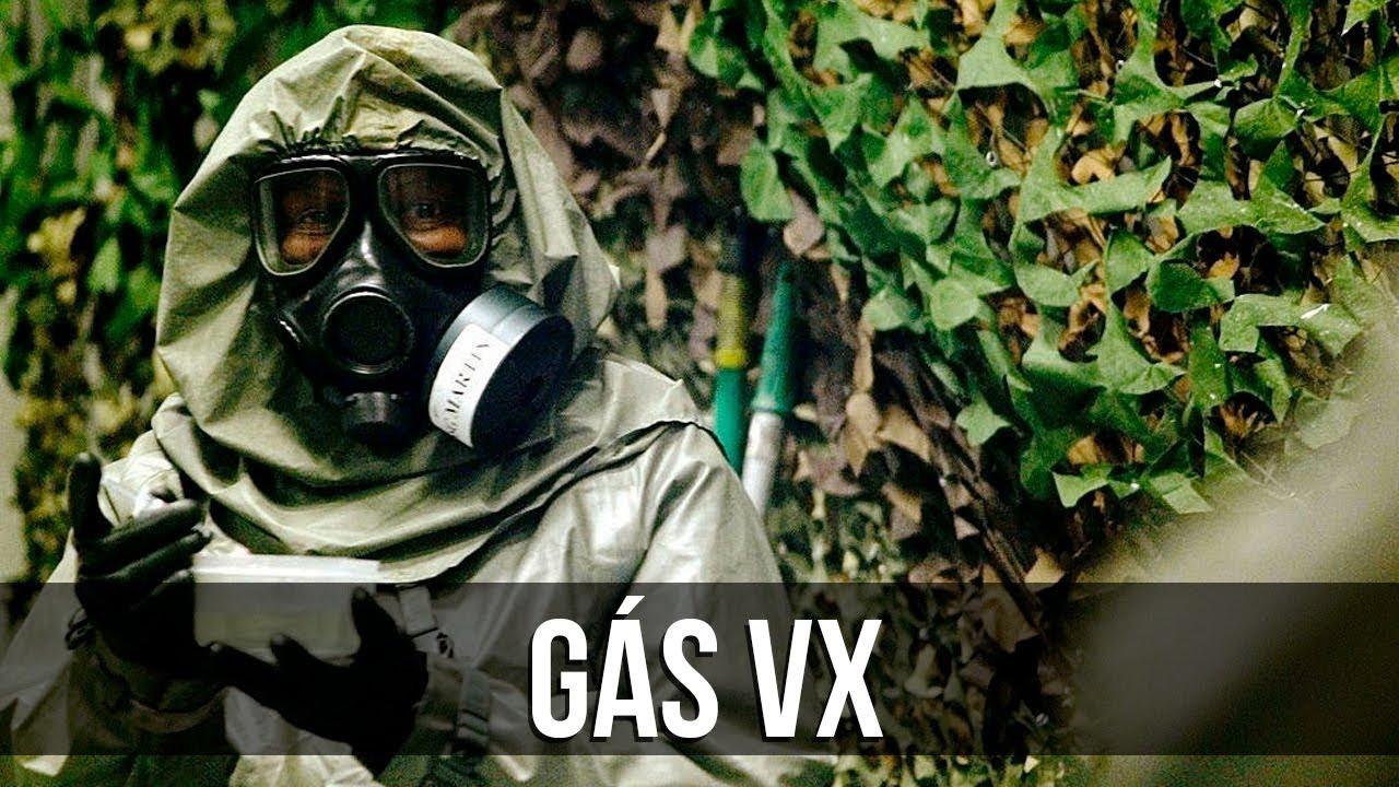 Resultado de imagem para gás VX