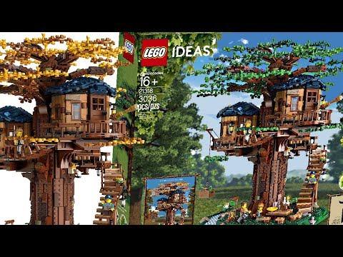LEGO Ideas Tree House - AMAZING set, TERRIBLE secret.