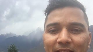 जोशीमठ ( चमोली) उत्तराखंड में अप्रैल के महीने में हिमपात live देखिए
