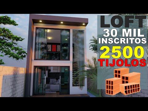 LOFT 66m² 2 quartos | LOFT PÉ DIREITO DUPLO | dois dormitórios