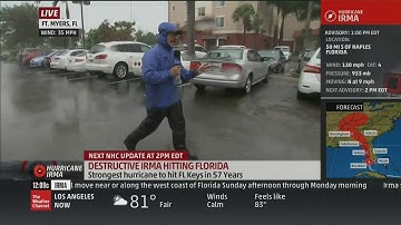 TWC Hurricane Irma coverage Sep 10, 2017 1:00PM-9:00PM