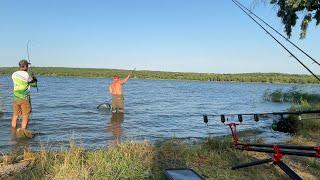 Я СМОГ это сделать Рыбалка на ДИКАРЕ 400 гектар