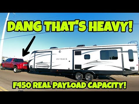 2017 F450 Real Payload Capacity Much Less Than You Think