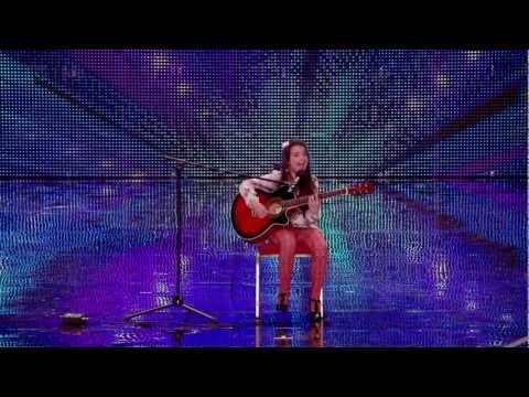 Lauren Thalia - Turn my Swag On - Audition - Britains got talent