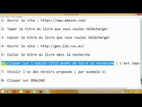 Tuto : Télécharger N'importe Quel Livre...même S'il Est Payant ?! It Works 100% ♥